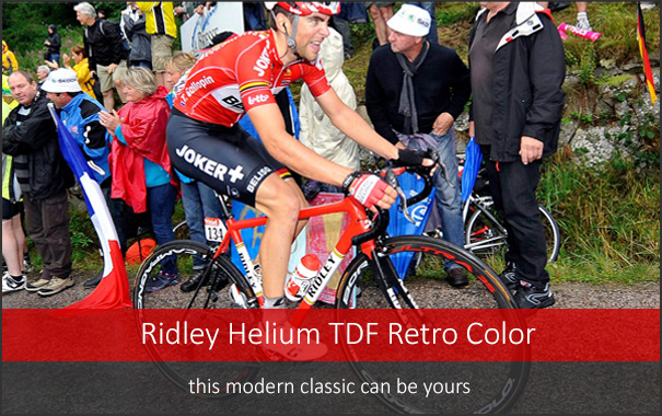 Ridley Helium SL Team Retro Frameset