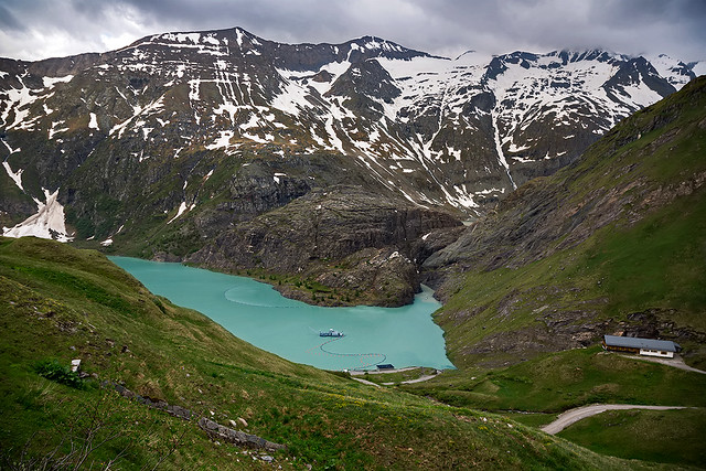 The landscape around the Grossglockner in Tyrol, Austria.