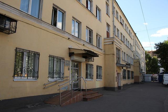 Соцгород для работников Ярославского резино-асбестового комбината (РАК)