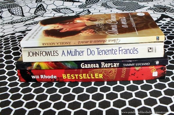 Caixa de Correio, livros, junho, blog, Pétalas de Liberdade