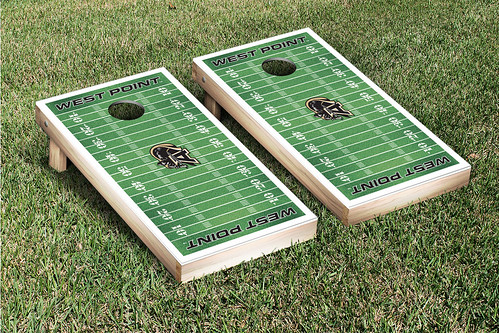 Army Black Knights Cornhole Game Set Football Field