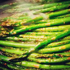 Because it is Wednesday. #quornflour #asparagus #nomnom #foodie #eattherainbow #green #eatgreen #greenliving #supper