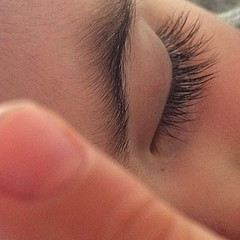 Those eyelashes. #nofilter