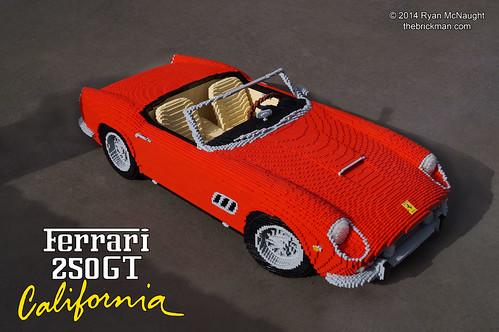 Lego Ferrari 250 Gt California Lego 1961 Ferrari 250 Gt