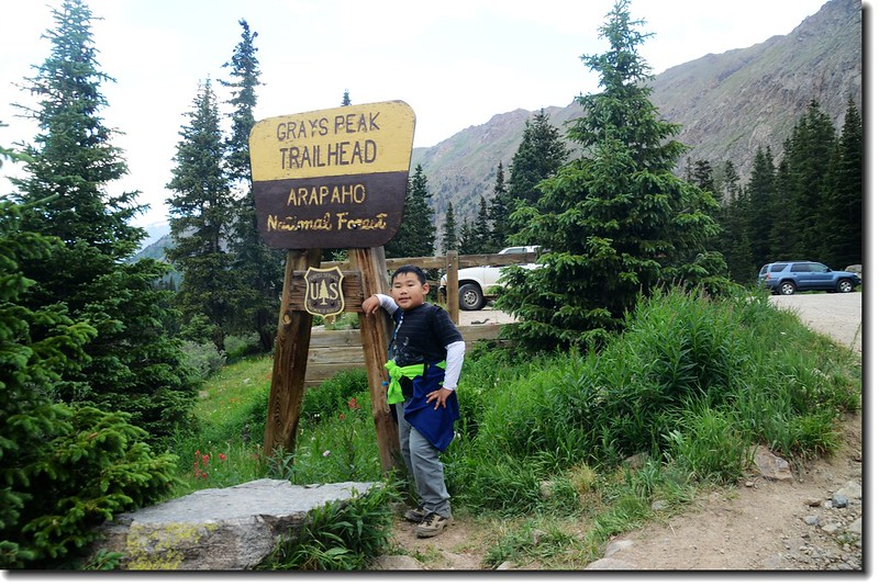Grays Peak Trailhead 2