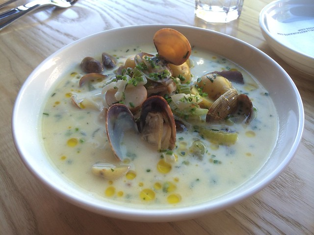 Clam chowder - Chippy's Fish & Drink