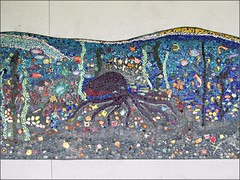 Nimitz Elementary School Mosaic, middle