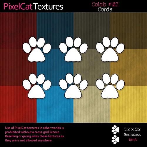 PixelCat Textures - Colab 102 - Cords