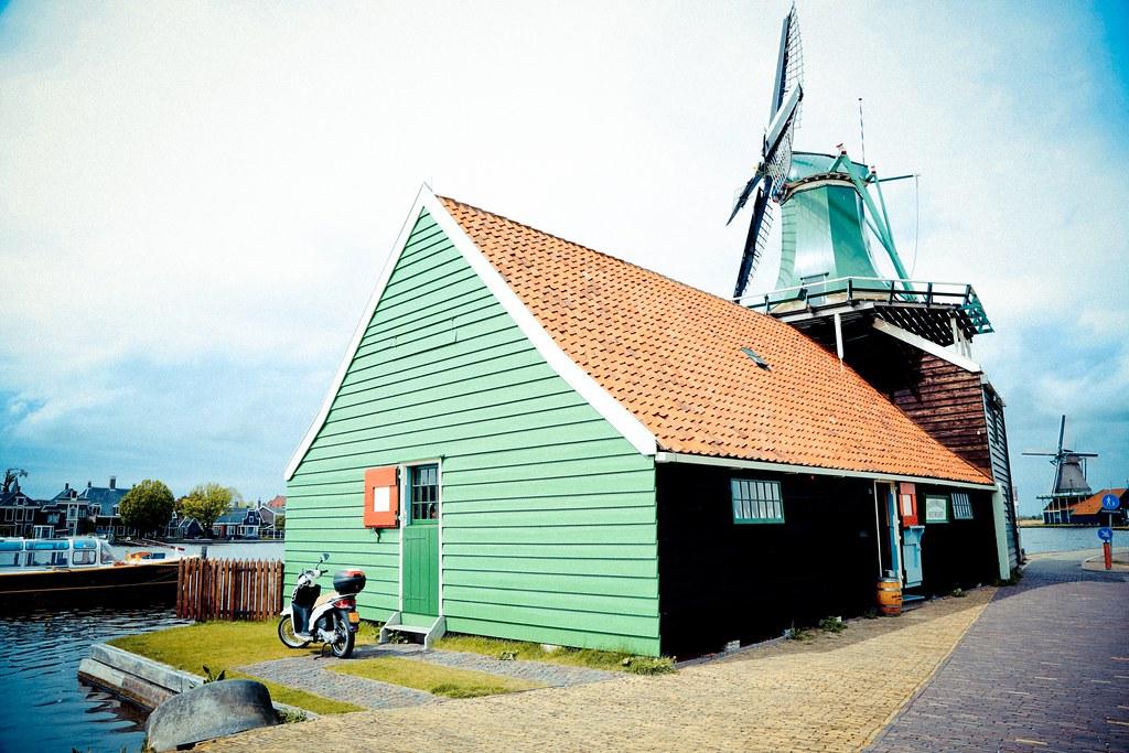 Netherlands 荷蘭- Zaanse Schans 桑斯安斯 (風車村) (3)