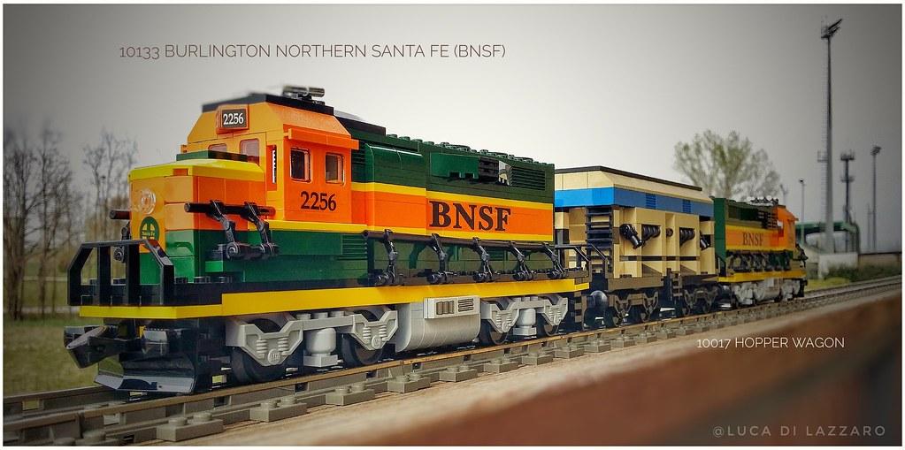 10133 BNSF + 10017 Hopper Wagon