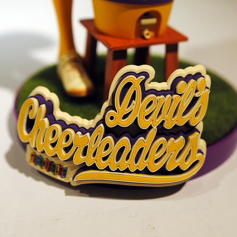 "Rockin'Jelly Bean 暢銷的傑作再度立體化!""惡魔啦啦隊""湖人隊配色 ""Devil's Cheerleaders"" Lakers Color Ver."
