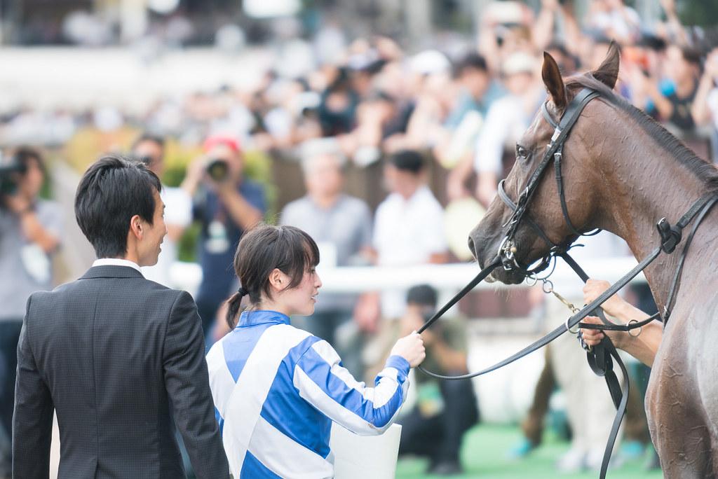 藤田菜七子騎手&ラミアカーサ