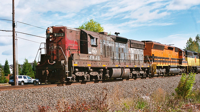 Portland and Western Freight Train
