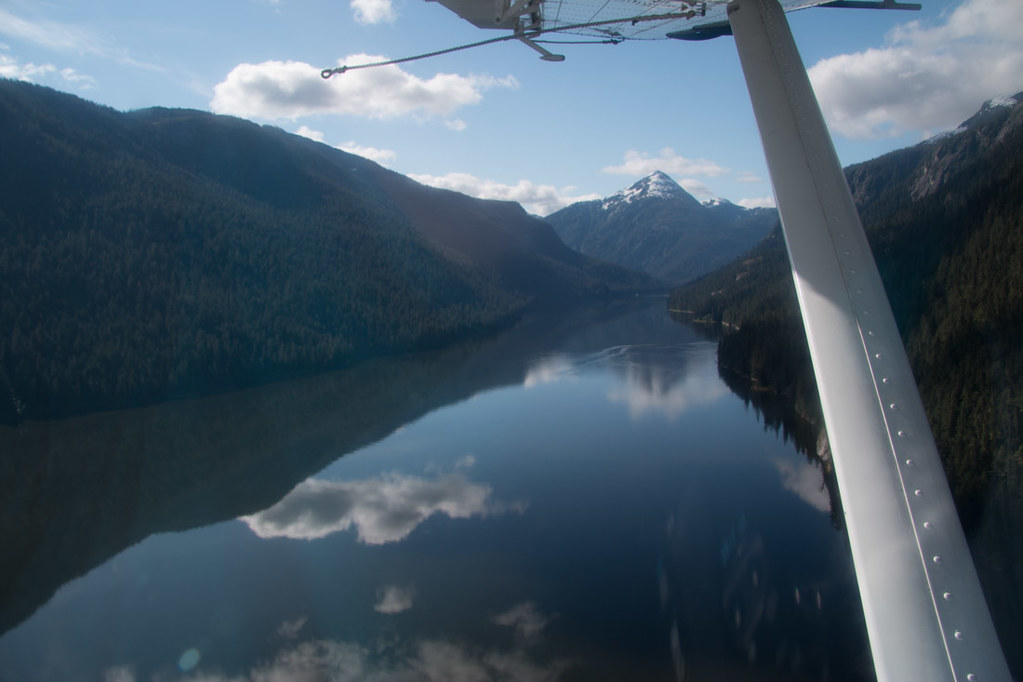 Seaplane in Misty Fjords National Monument
