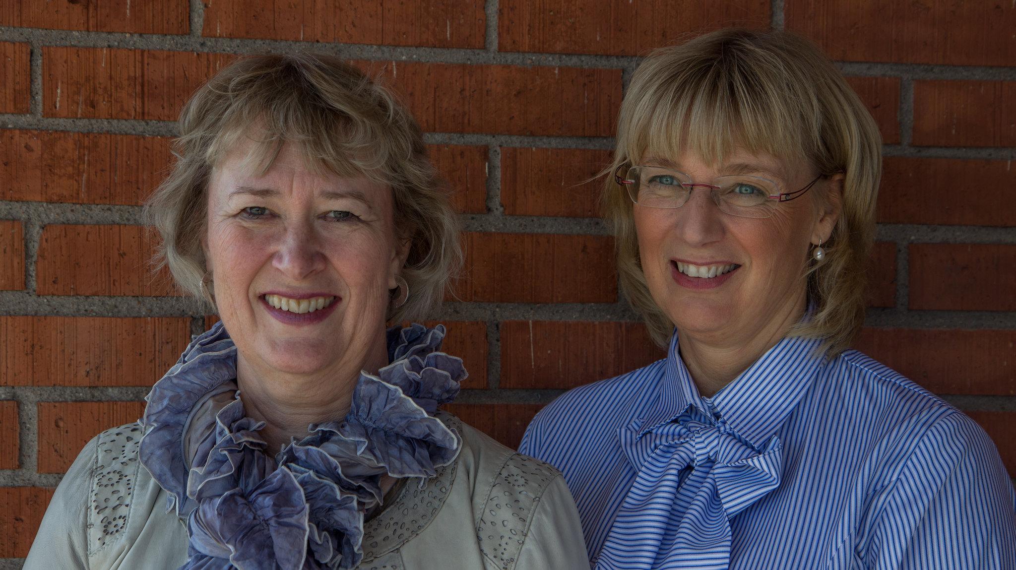 Ewa Kristensson och Marie Lundin