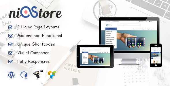 Nistore WordPress Theme free download