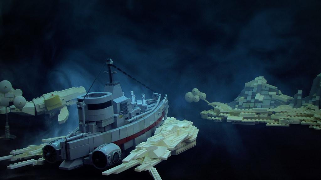 Drεαdnϙught (custom built Lego model)