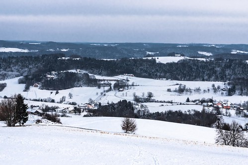 Views from Sotinski Breg viewing platform