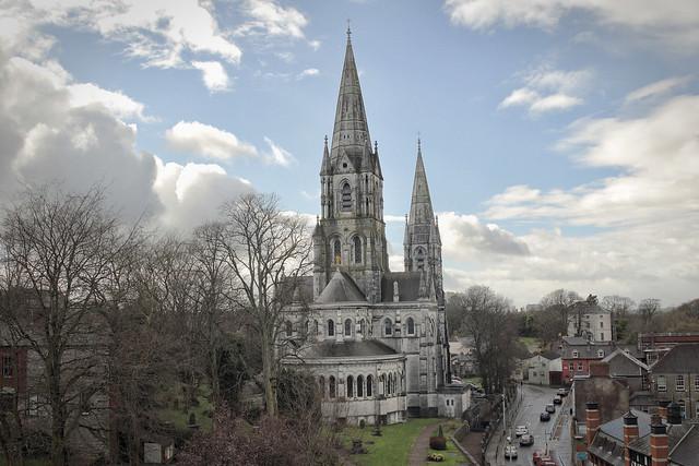Saint Fin Barre's Cathedral Juxtaposition