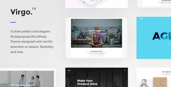 Virgo WordPress Theme free download