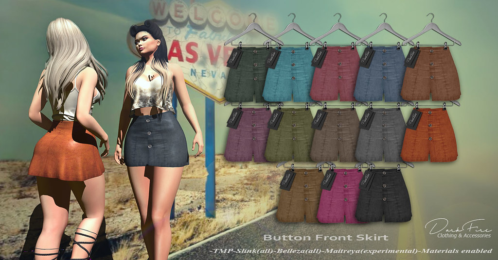 ButtonFrontSkirt - SecondLifeHub.com