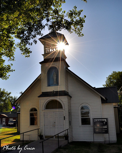 Sept 2011 - Hudson Wyoming church by Cuca