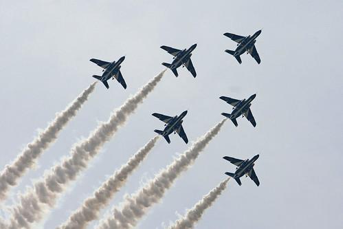 ブルーインパルス展示飛行 IMG_5006_2