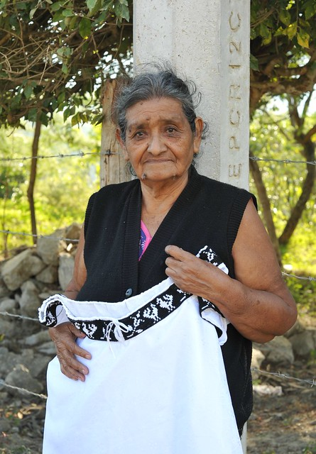 Silvina la Bordadora Zoque Woman Chiapas Mexico