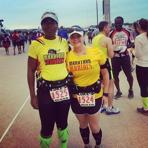 Marathon Maniacs at it again! Hello Irving Marathon! #runchat #runhappy #running