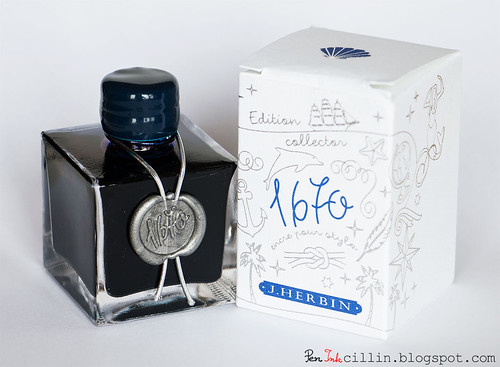 J Herbin 1670 Anniversary Bleu Ocean