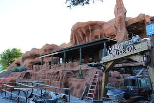 Calico Mine Ride during rehab
