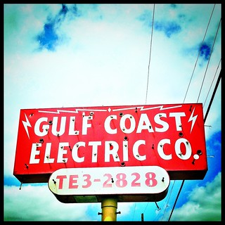 Electric Co. vintage sign -- how about that old phone number?