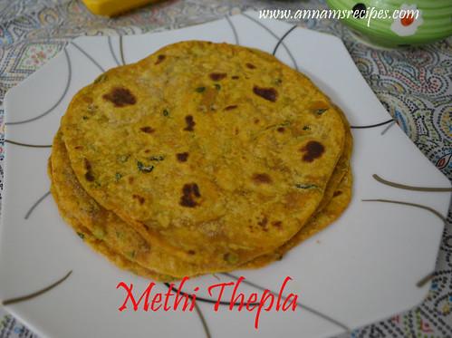 Methi Thepla / Roti / Paratha