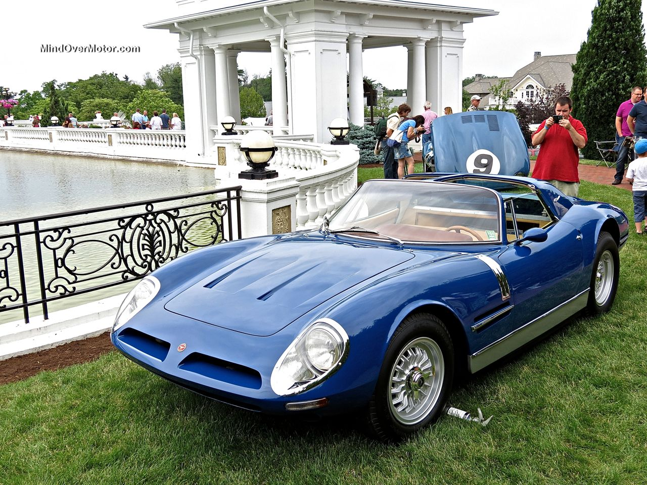 Bizzarrini Spyder SI 5300 Targa at Hershey 1