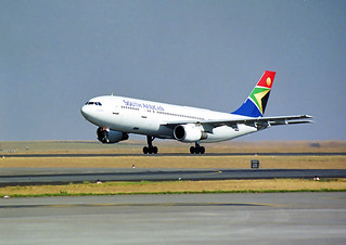 South African Airways A300B2K-3C ZS-SDD