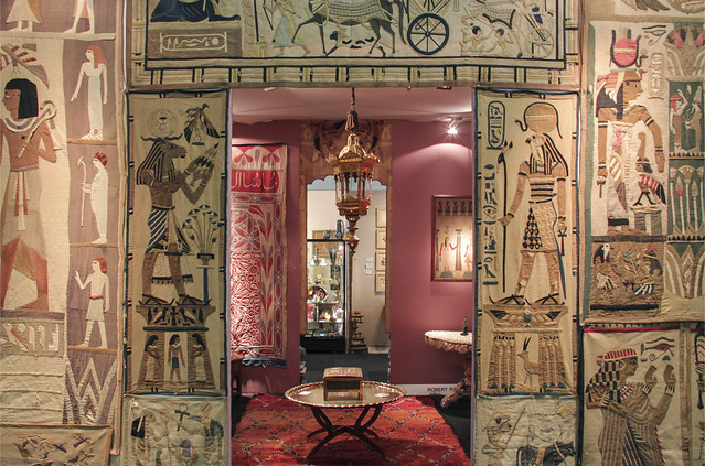 Egyptian themed display