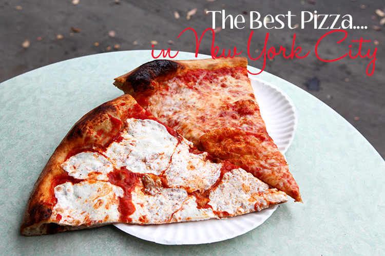 The Best Pizza in NYC Joe's Pizza