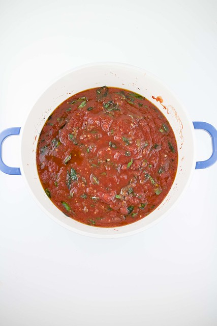 Spicy Crushed Tomato Sauce