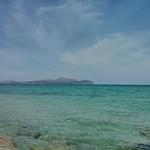 Bay of Alcúdia seen from Hotel Ferrer Concord, Can Picafort, Santa Margalida, Mallorca, Balearic Islands, Spain