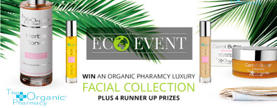 The Organic Pharmacy giveaway Earth Day