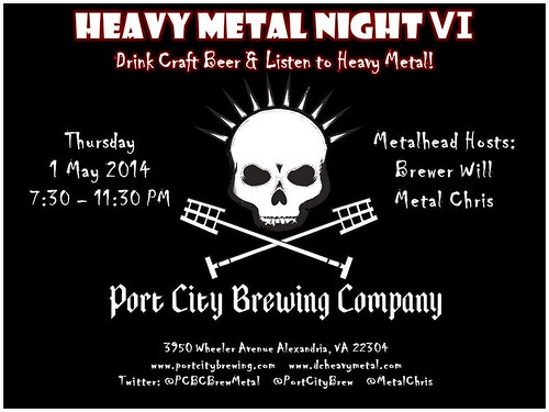 Metal Night VI at Port City Brewery