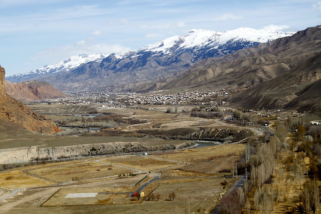 Overlooking the Naryn valley
