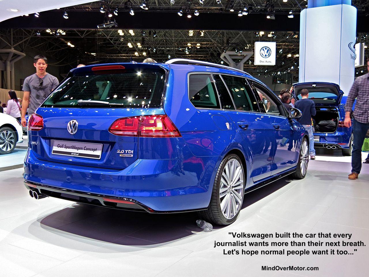 NYIAS 4 VW Golf Sportwagen TDI