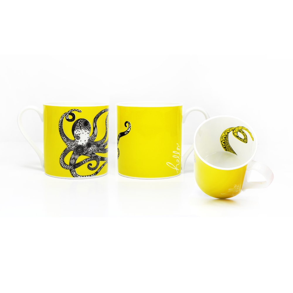Octopus Mug by Hello Wilson
