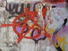 red star graffiti
