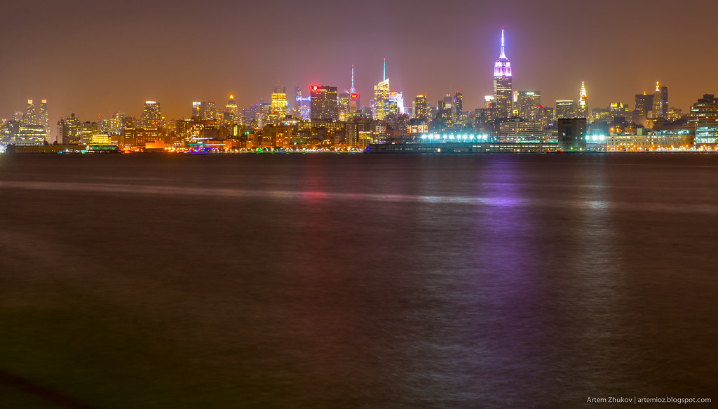 Night Manhattan