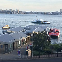 End of the day at Taronga Zoo ferry wharf #tarongazoo #ferrywharf #sydney #sydneyharbour #zoo #newsouthwales