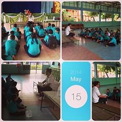 กิจกรรมเตรียมความพร้อมในการใช้ชีวิตในโรงเรียน #InstaMag-MobileApp @fotorus_official