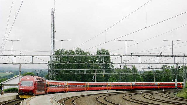 Composición del Bergensbanen