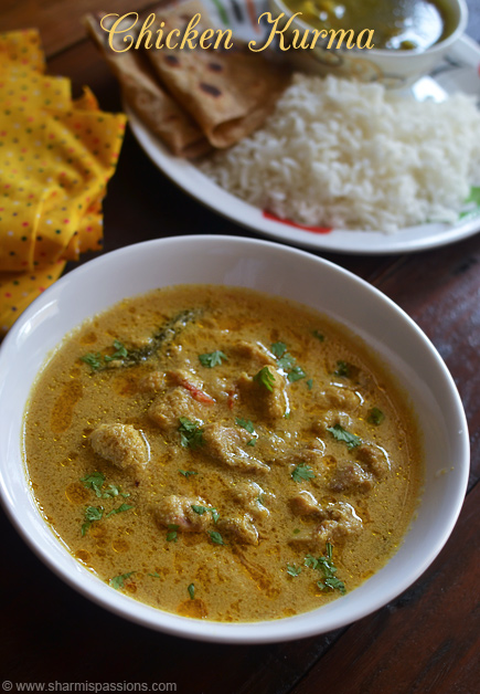 Chicken Kurma Recipe